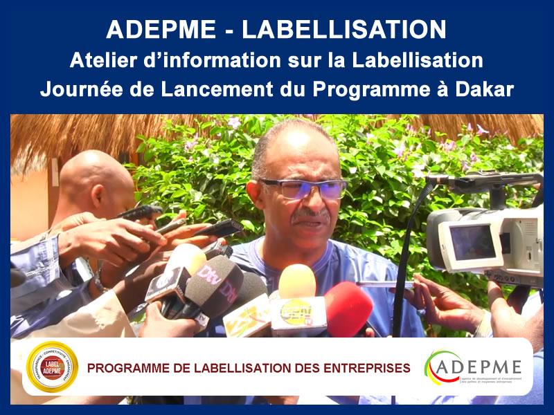 ADEPME – LABELLISATION – 1ère PHASE : 18 au 29-07-2016