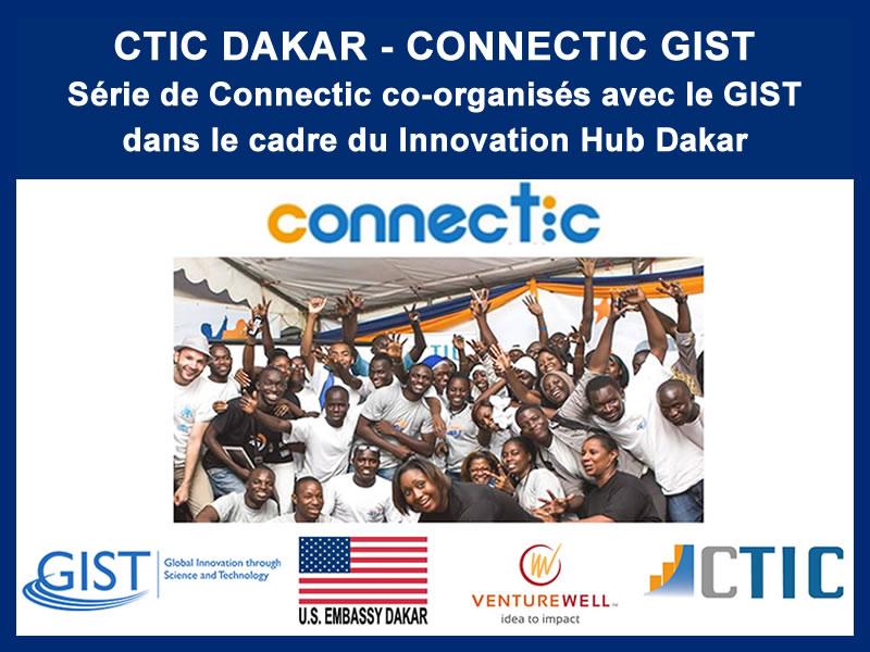 CTIC DAKAR – CONNECTIC GIST : 04-10-2016, 03-11-2016, 14 et 15-12-2016