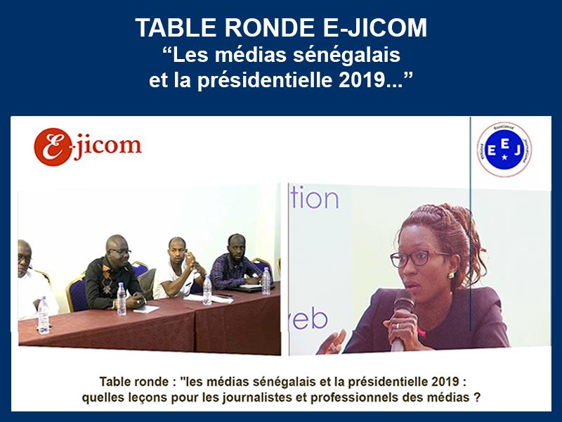 TABLE RONDE E-JICOM – MEDIAS ET PRESIDENTIELLE : 28-03-2019