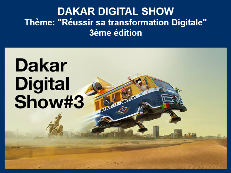 DAKAR DIGITAL SHOW : 04 au 06-12-2018